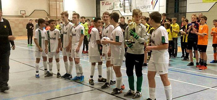 C-Junioren der Kickers gewinnen den HebbelCup 2018 des Post SV Dresden