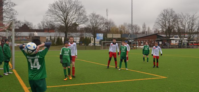 D2 mit Kick and Rush bei Sportfreunde Nord